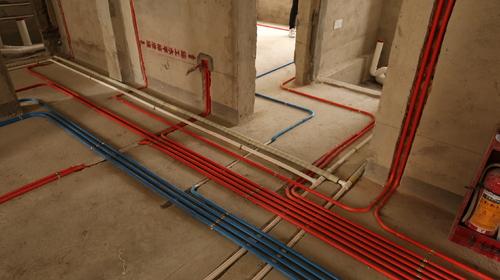 按照国家标准严格规范的水电工程